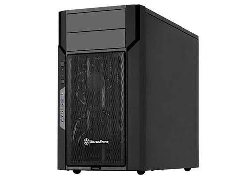 SilverStone KL06 mATX 4 PCI slots  Computer Case