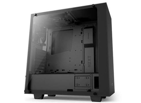NZXT Source S340 elite black ATX 7 PCI slots  Computer Case